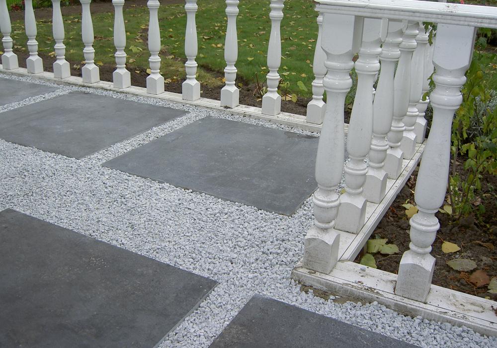 H s hoveniers wat kunnen wij voor u doen - Tuin grind decoratief ...